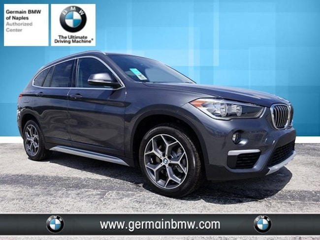 New 2018 BMW X1 Sdrive28i SUV in Naples, FL