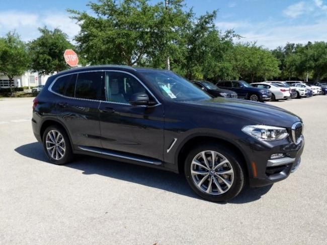 New 2019 BMW X3 Sdrive30i SUV in Naples, FL