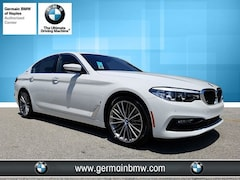 New 2018 BMW 5 Series Iperformance Sedan in Naples, FL
