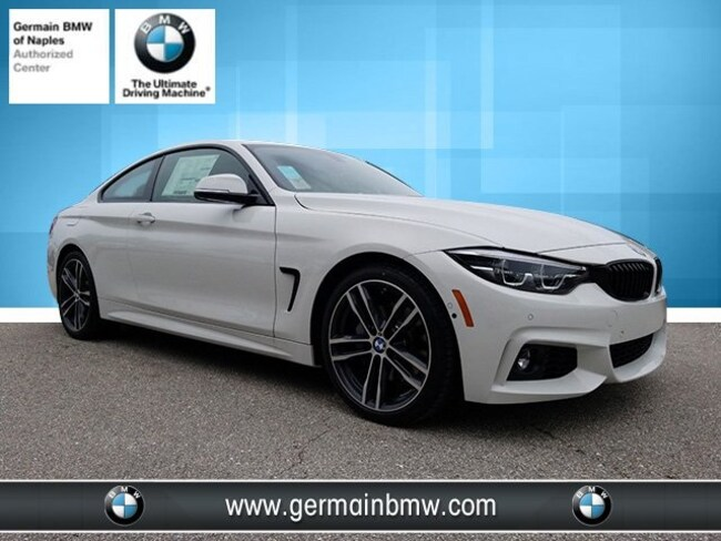 New 2019 BMW 4 Series 440i Coupe in Naples, FL