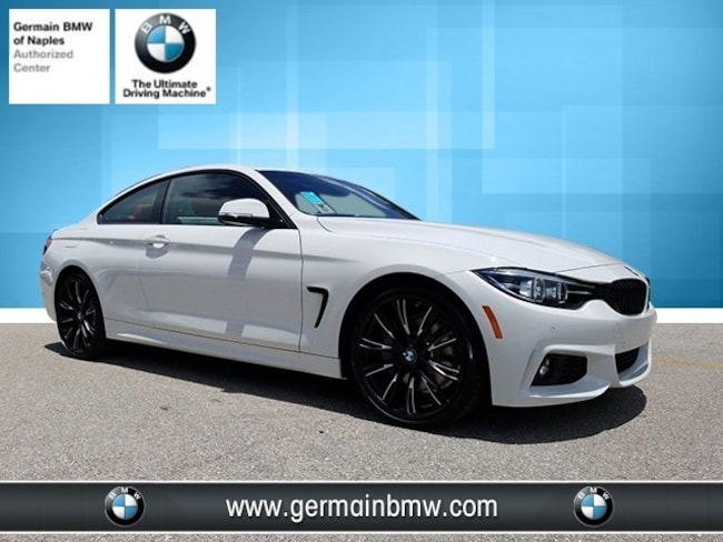 New 2019 BMW 4 Series 430i Coupe in Naples, FL