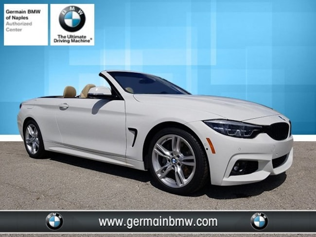New 2019 BMW 4 Series 440i Convertible in Naples, FL