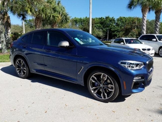 New 2019 BMW X4 M40i SUV in Naples, FL