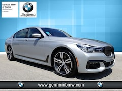 New 2019 BMW 7 Series 740i Sedan B19124 in Naples, FL