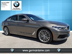 New 2019 BMW 5 Series 540i Sedan in Naples, FL