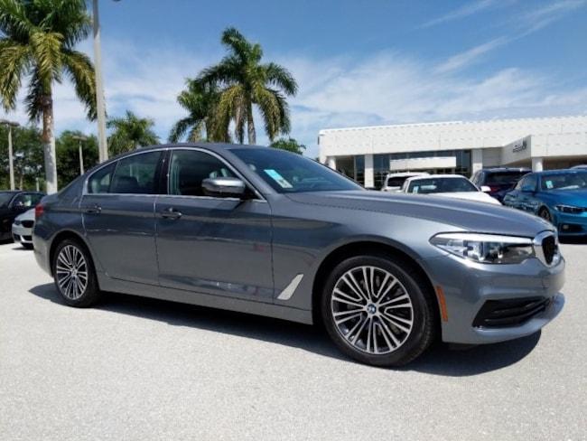 New 2019 BMW 5 Series 530i Sedan in Naples, FL