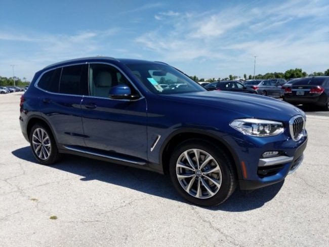 New 2019 BMW X3 xDrive30i SUV in Naples, FL