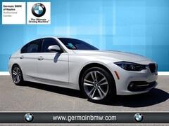 New 2018 BMW 3 Series 328d Sedan in Naples, FL