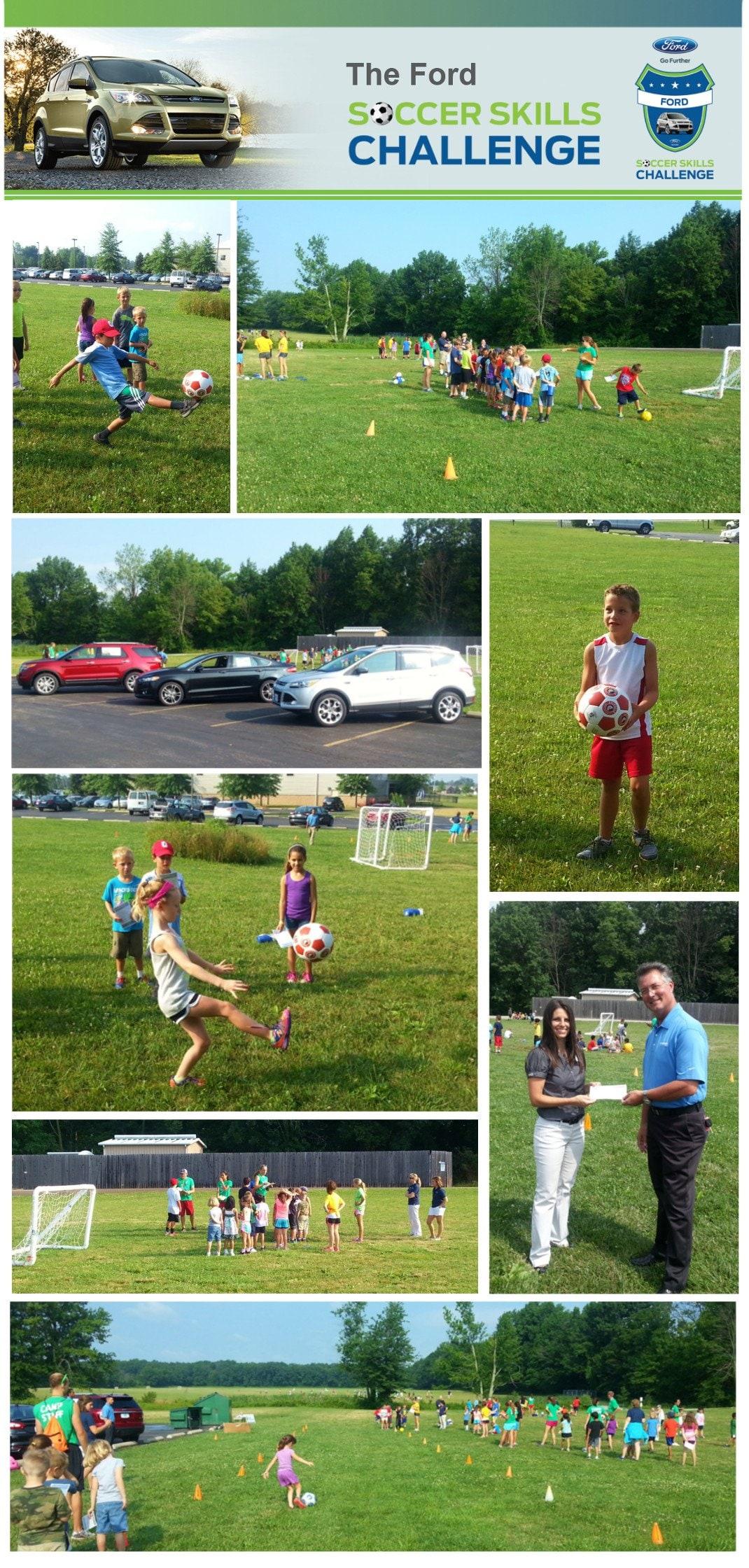 Germain Ford Soccer Skills Challenge