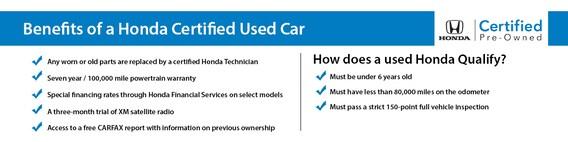 Honda Certified Pre Owned Warranty >> Germain Honda Certified Vehicles Pre Owned Cars For Sale