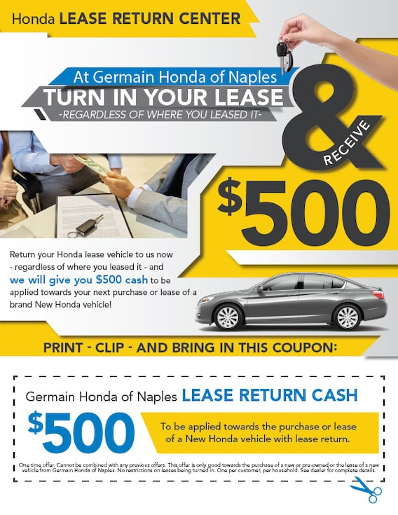 Germain Honda Service >> Honda Lease Return Car Lease Cash Back Germain Honda Of