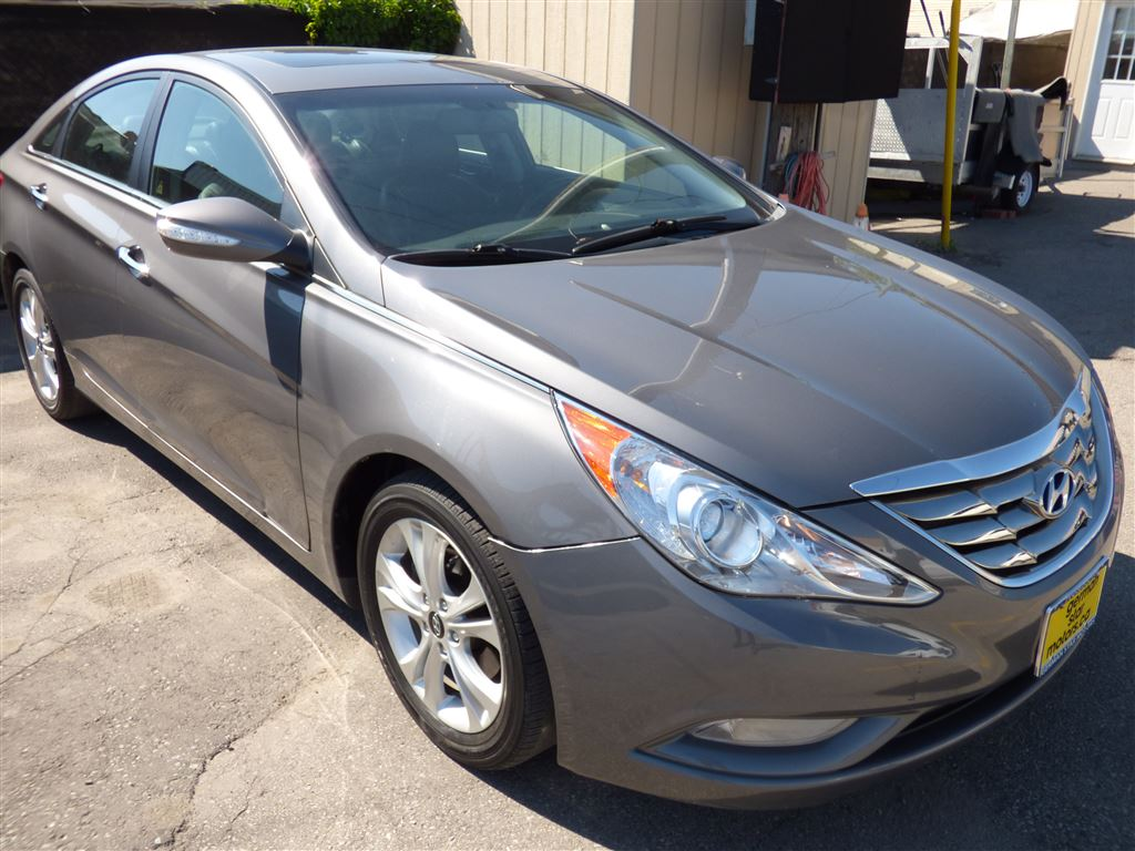 2011 Hyundai Sonata LIMITED & Navigation & LEATHER & REAR CAM & Sedan