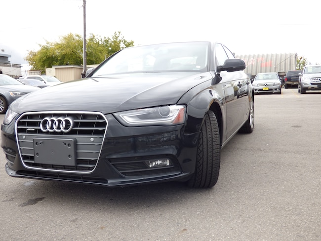 2014 Audi A4 2.0T Progressiv Plus & NAVIGATION & XENON & SUNROO Sedan