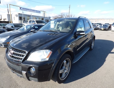 2008 Mercedes-Benz M-Class ML 63 AMG & NAVI & BACK UP CAM & FULLY LOADED SUV