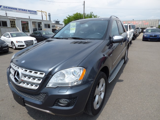 2010 Mercedes-Benz M-Class ML350 BlueTEC 4MATIC & NAVI & BACK UP CAM SUV