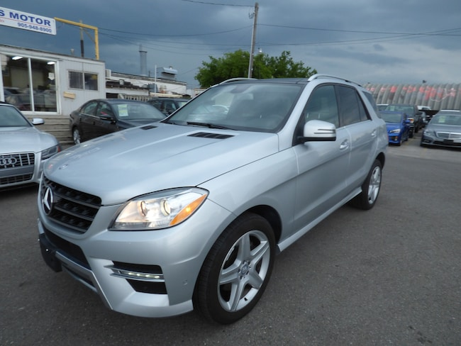 2013 Mercedes-Benz M-Class ML350 BLUETEC & NAVI & REAR CAM & PANO SUNROOF SUV