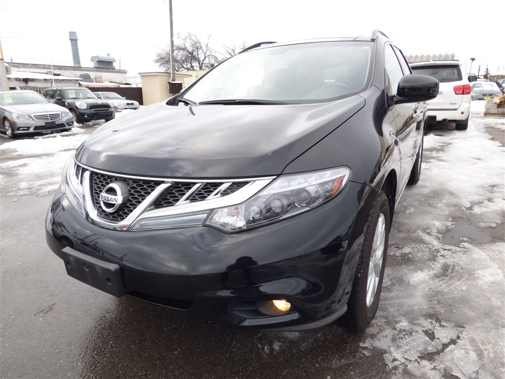 2012 Nissan Murano SL AWD & PANORAMIC SUNROOF & BACK UP CAM & BOSE SUV