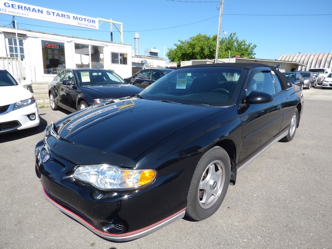 2003 Chevrolet Monte Carlo LS & LOW KM &  & DUAL AIR CONDITIONING Coupe