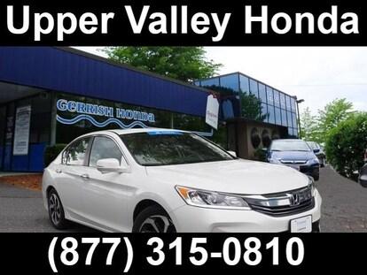 Valley Motor Honda >> Used 2016 Honda Accord For Sale At Upper Valley Honda Vin