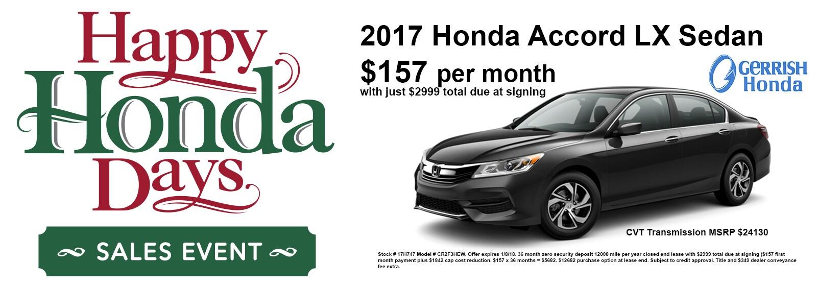 Gerrish Honda