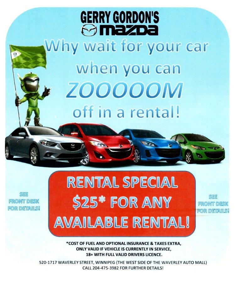 Car Rental Winnipeg Waverley