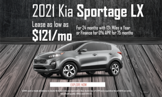 February Sportage LS Lease Offer