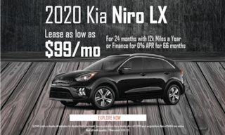 February Niro LX Lease Offer