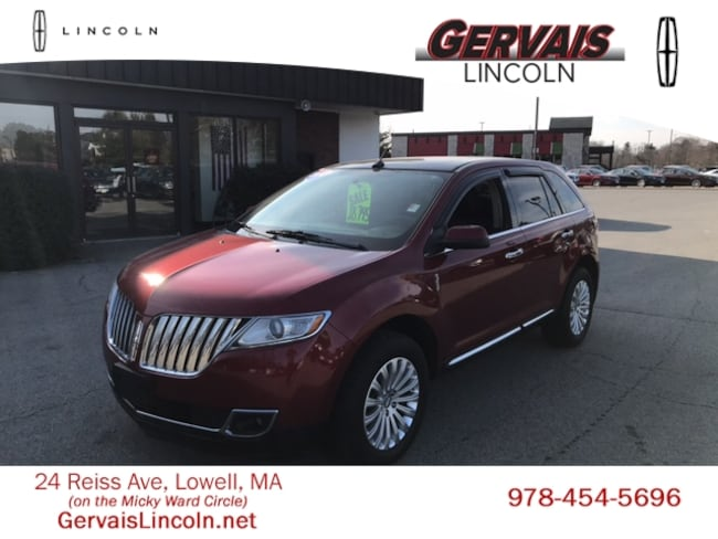Used 2014 Lincoln Mkx For Sale At Gervais Lincoln Vin