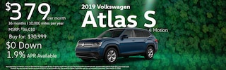 2019 Volkswagen Atlas w/ 4 Motion