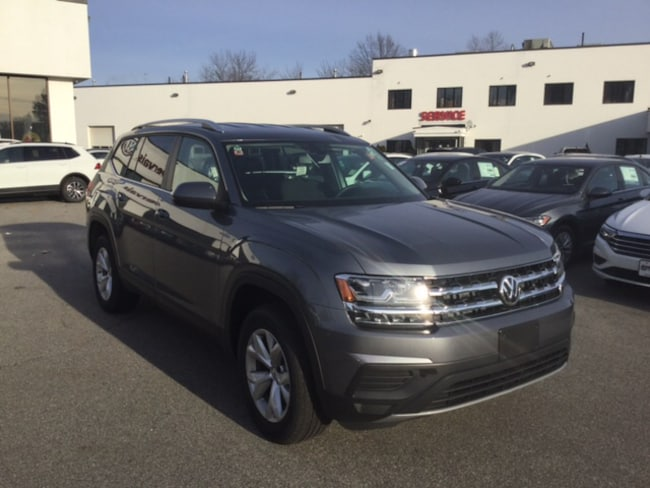 2019 Volkswagen Atlas 3.6L V6 S 4MOTION WAGON For Sale in Lowell, MA
