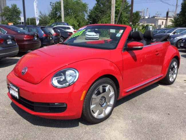 2015 Volkswagen Beetle Convertible 1.8T w/Sound/Navigation/PZEV Convertible For Sale in Lowell, MA