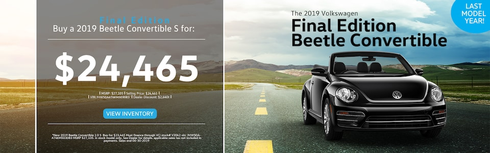 Beetle Final Edition Special