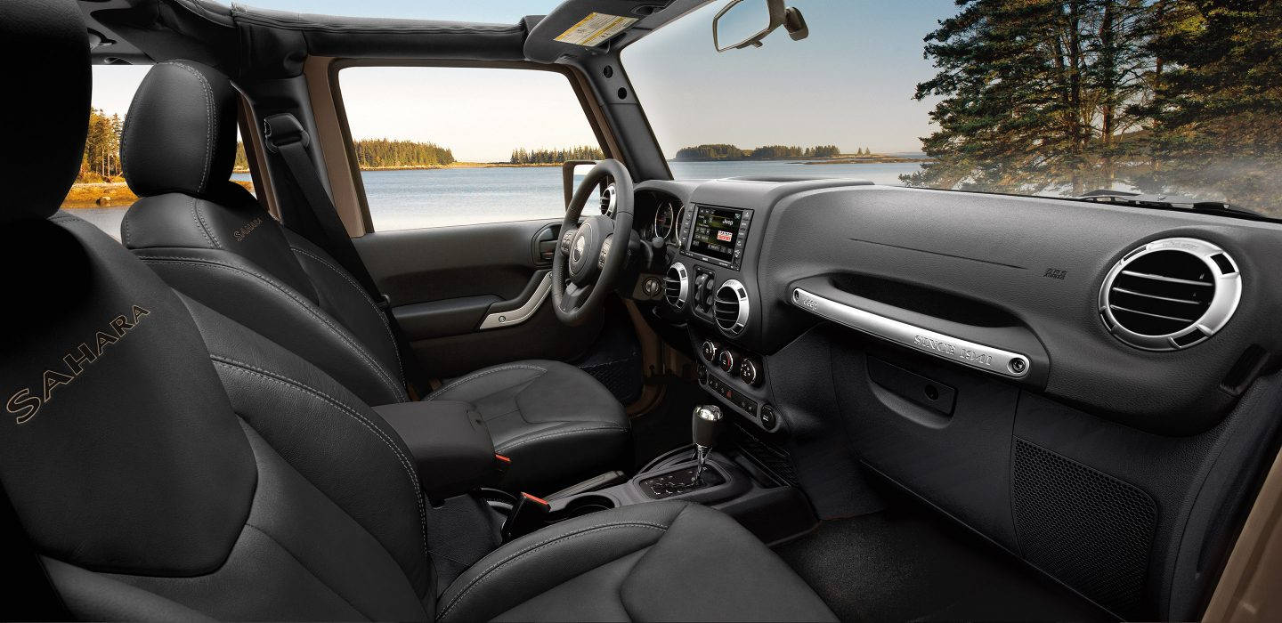 2017 Jeep Wrangler Unlimited interior
