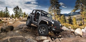 2018 Jeep Wrangler JK off-roading
