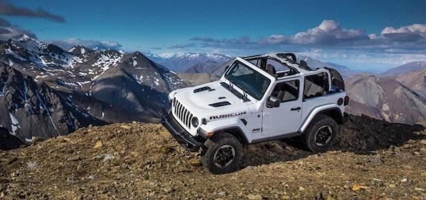 2018 Jeep Wrangler off-road