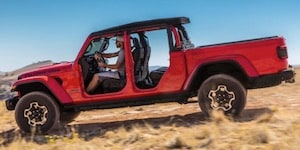 2020 Jeep Gladiator with doors removed