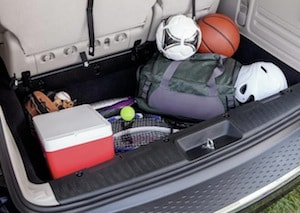Cargo space in the 2017 Dodge Grand Caravan