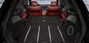 2018 Jeep Grand Cherokee Trackhawk trunk space