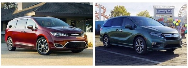 2018 Chrysler Pacifica vs Honda Odyssey