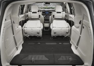 Cargo space in the 2018 Chrysler Pacifica Hybrid