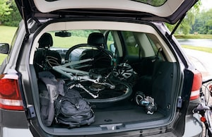 Cargo space in the 2018 Dodge Journey