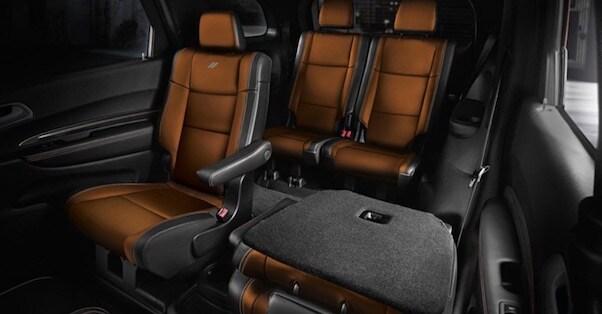 2018 Dodge Durango interior space