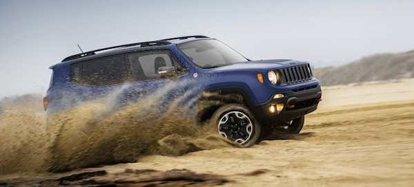 2017 Jeep Renegade off-road