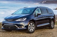 2018 Chrysler Pacifica Hybrid near Long Beach