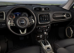 Cabin of the 2018 Jeep Renegade