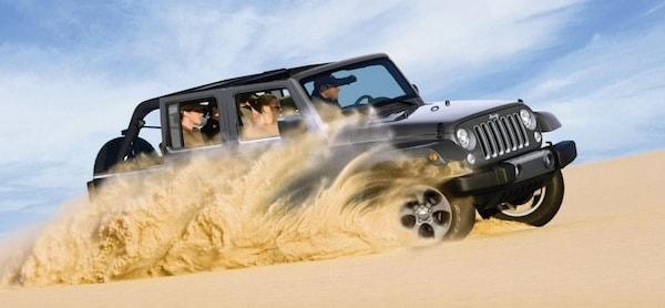 2017 Jeep Wrangler Unlimited near Los Angeles