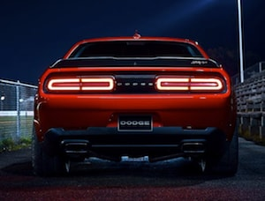 2018 Dodge Challenger SRT Demon exterior