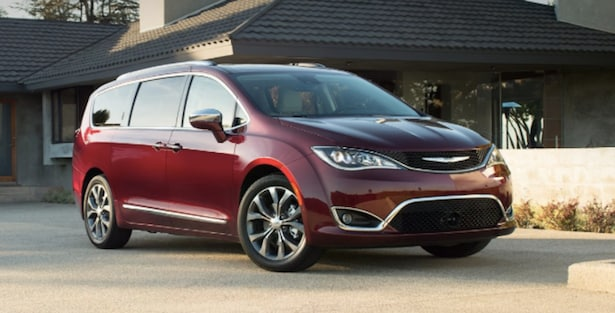 2017 Chrysler Pacifica available near Los Angeles