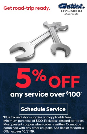 Any Service Over $100 5% Off