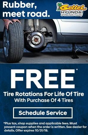 Free Tire Rotations